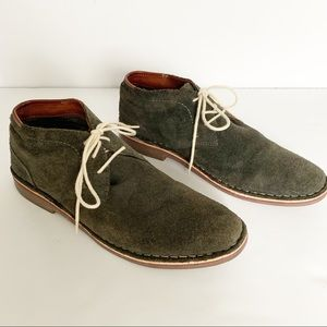 Kenneth Cole | Grey Suede Leather Chukka Lace up